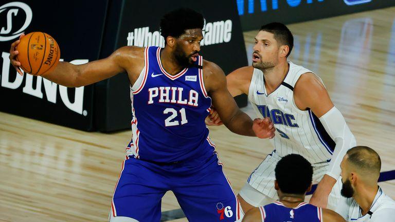 Orlando Magic up against the Philadelphia 76ers