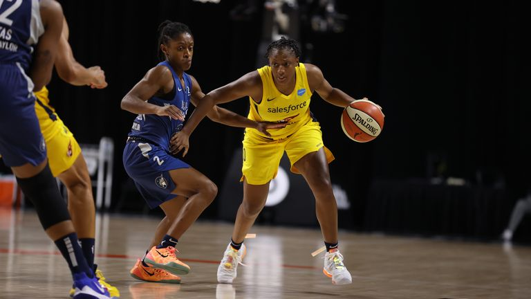 Indiana Fever and the Minnesota Lynx
