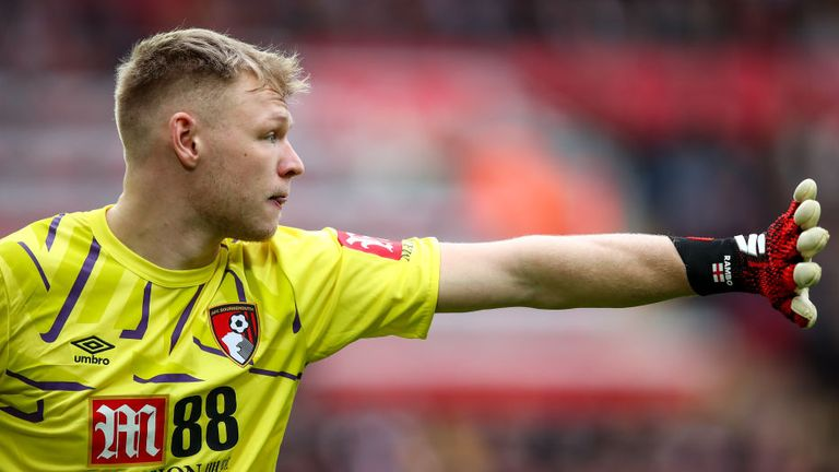 Aaron Ramsdale played in all but one of Bournemouth's top-flight games in 2019/20