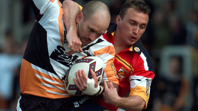 Vowles in action for Castleford