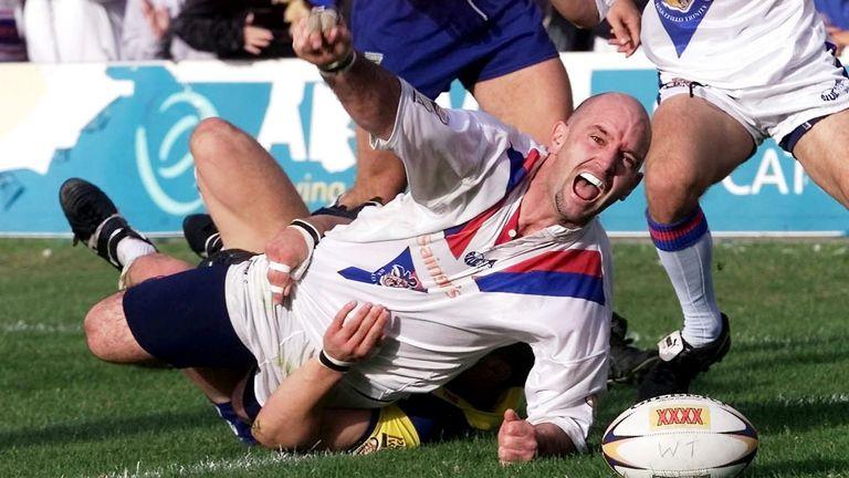 Vowles' hat-trick helped Wakefield retain their Super League status in 2002
