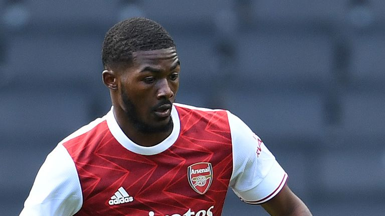 Ainsley Maitland-Niles started Arsenal's pre-season win over MK Dons on Tuesday