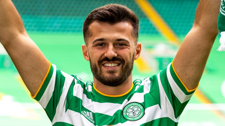 Celtic announce the signing of Swiss forward Albian Ajeti