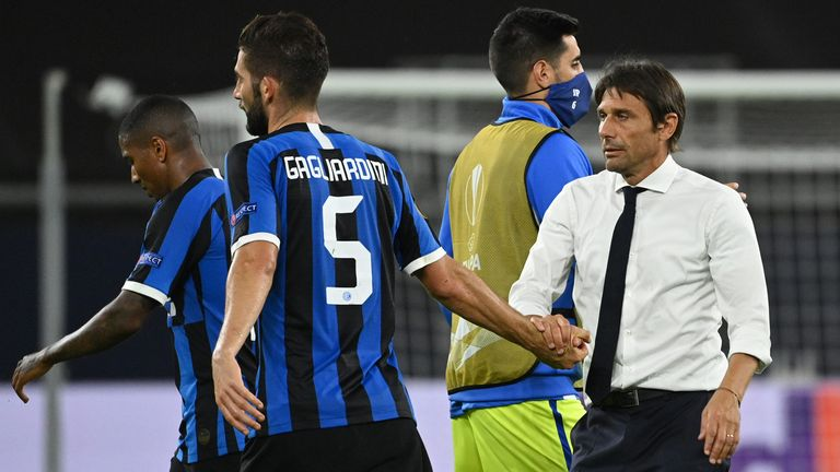 Inter boss Antonio Conte has had his say about the backing from his board