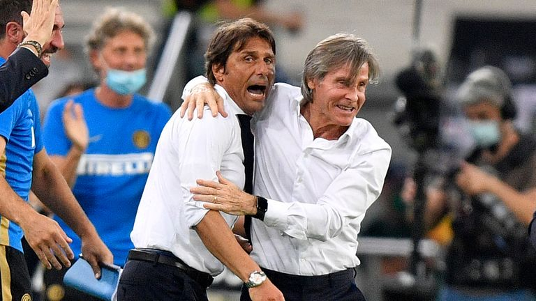 Antonio Conte is yet to win a European trophy in his managerial career