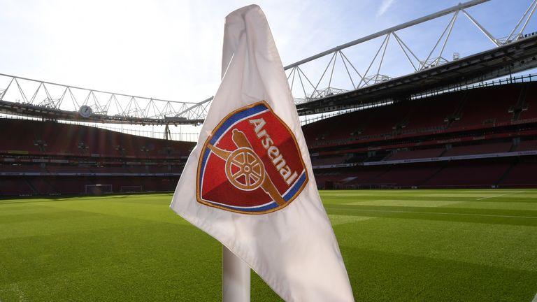 Arsenal corner flag