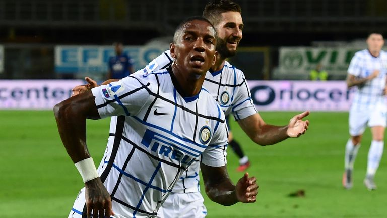 Ashley Young helped Inter Milan secure a second-placed finish in Serie A