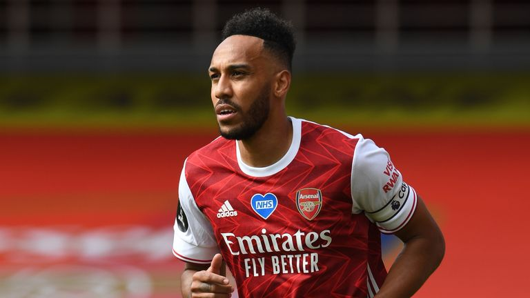 Pierre-Emerick Aubameyang has decided to stay at the Emirates