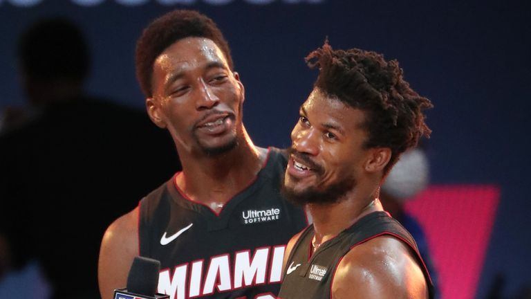 Jimmy Butler Bam Adebayo The Heart And Soul Of Miami Heat Nba News Sky Sports