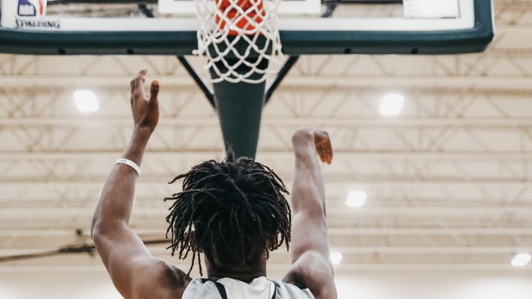 The number of young people playing basketball is up 15 per cent in the last year