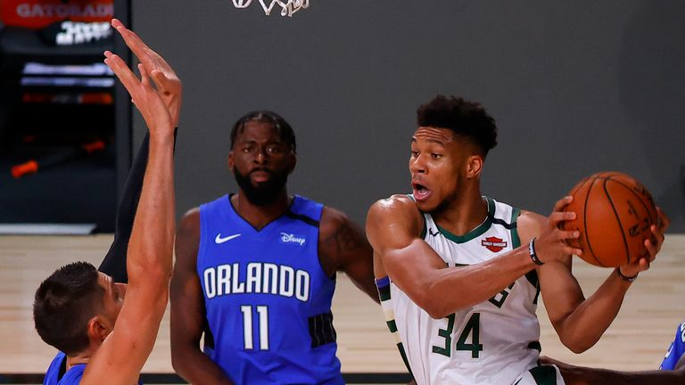 Highlights of Game 5 of the Eastern Conference first round playoff series between the Orlando Magic and the Milwaukee Bucks.