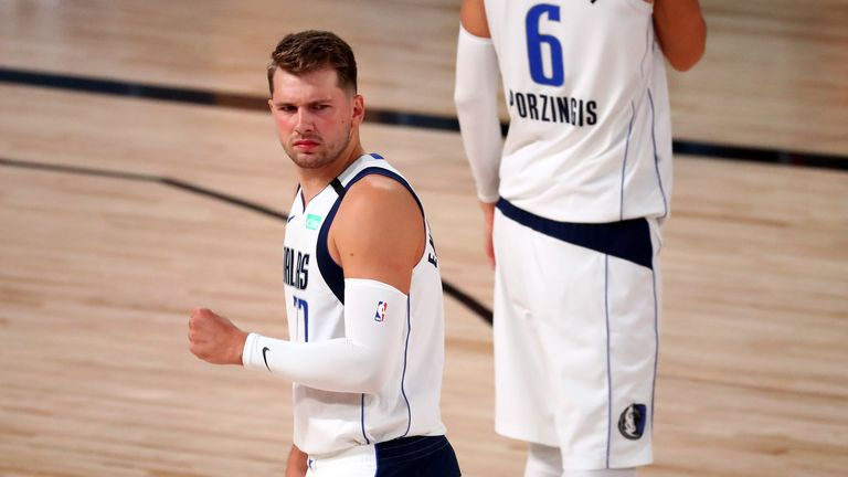 Luka Doncic contributed 28 points, eight rebounds and seven assists as the Dallas Mavericks beat the Los Angeles Clippers in Game 2 of their first round playoff series.