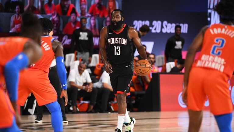 Highlights of Game 5 of the Western Conference first round playoff series between the Oklahoma City Thunder and the Houston Rockets.