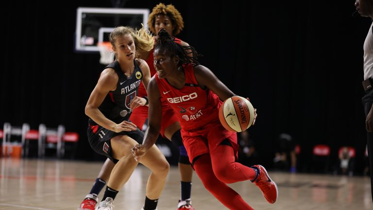 Highlights of the WNBA regular season game between the Atlanta Dream and the Washington Mystics from Florida.