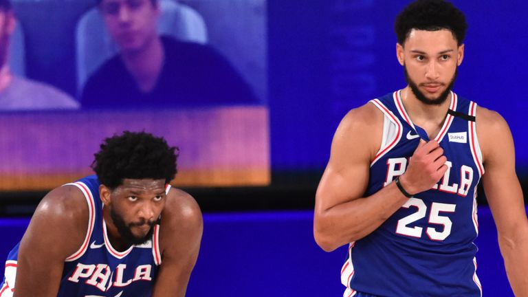 Philadelphia 76ers All-Star duo Joel Embiid and Ben Simmons