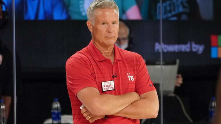 Brett Brown has been sacked by the Philadelphia 76ers