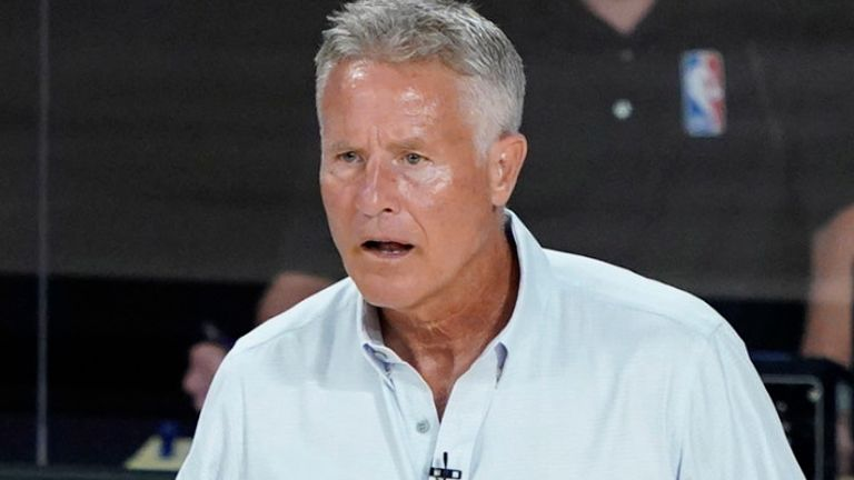 Brett Brown had been coach of the Philadelphia 76ers since 2013