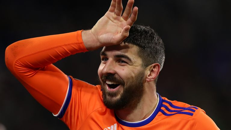 Cardiff City's Callum Paterson has been called into Steve Clarke's Scotland squad for next month's Nations League games