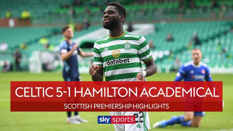 Celtic v Hamilton thumbnail