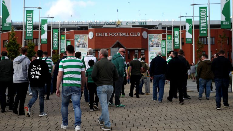 Celtic had hoped to allow as many as 1,400 supporters through the turnstiles for the Scottish Premiership fixture against Motherwell
