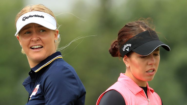 Can Charley Hull or Georgia Hall celebrate a victory in Scotland this week?
