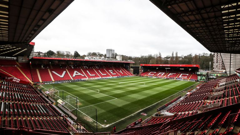 A group of Charlton supporters say they will not leave the boardroom at The Valley, as they protest against the club's ownership issues