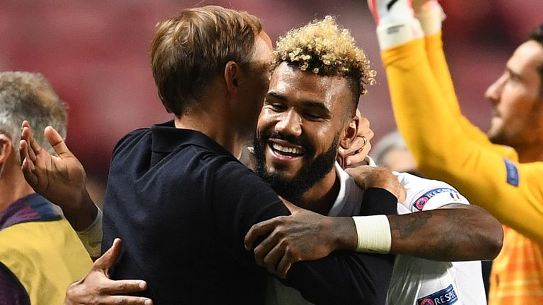 Eric Maxim Choupo-Moting's 93rd-minute goal sent PSG into the last four