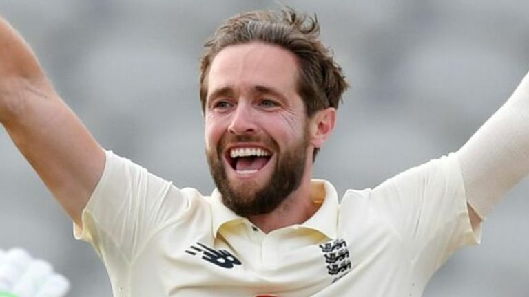 Chris Woakes took 2-11 as England fought back in Manchester