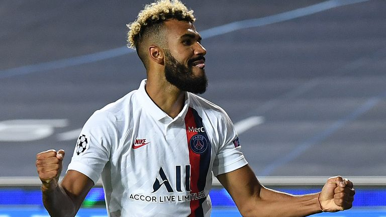 Choupo-Moting's late winner sent PSG to the last four of the Champions League