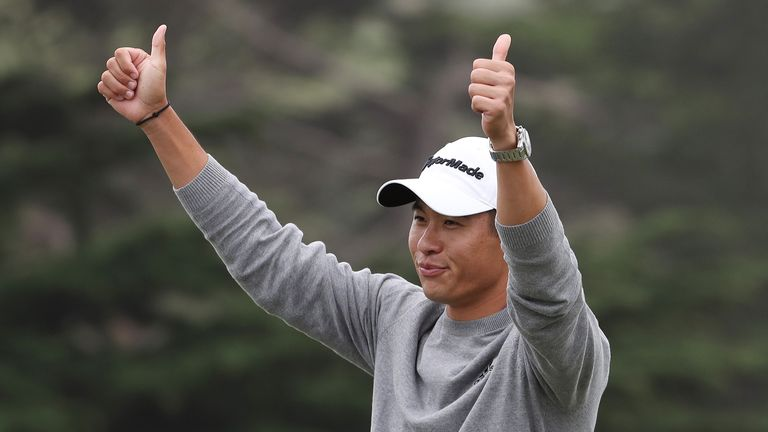 Morikawa claimed a two-shot victory over Dustin Johnson and Paul Casey
