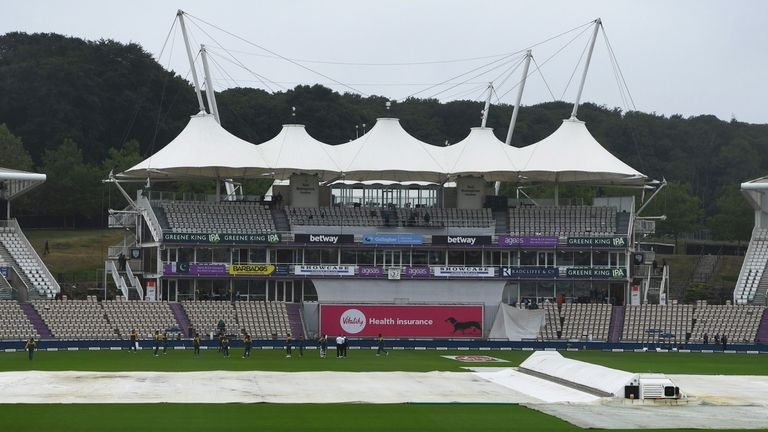 Light and rain have severely disrupted the second Test, with no play possible on day three in Southampton