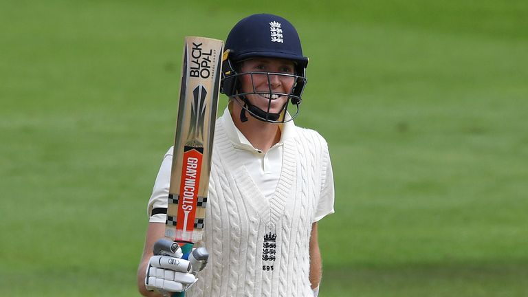 Zak Crawley Scores Double Hundred Third Youngest Man To Milestone For England In Test Cricket Cricket News Sky Sports