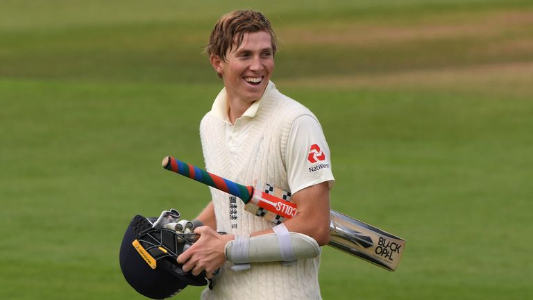 Zak Crawley was 171 not out at stumps