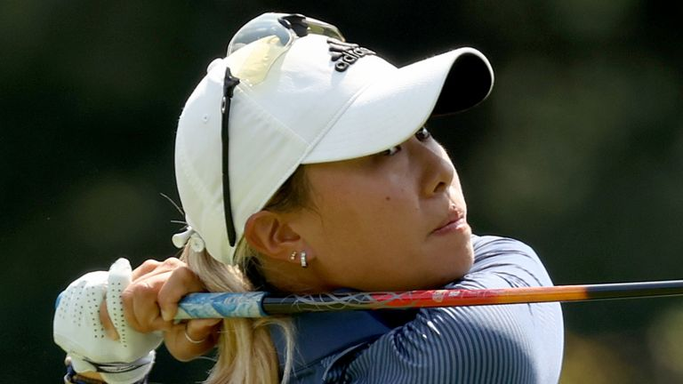 Kang is looking to become the first player since 2016 to win three consecutive LPGA Tour events