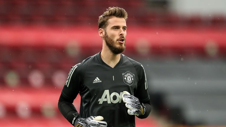 David de Gea could face competition from Henderson for the number one shirt next season