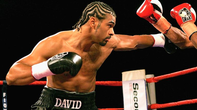 A perfectly timed counter punch had rescued Haye