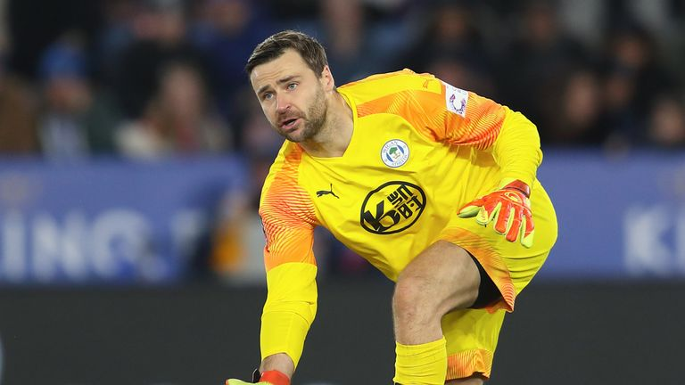David Marshall joins Derby from Wigan after keeping 15 clean sheets last season for the Latics