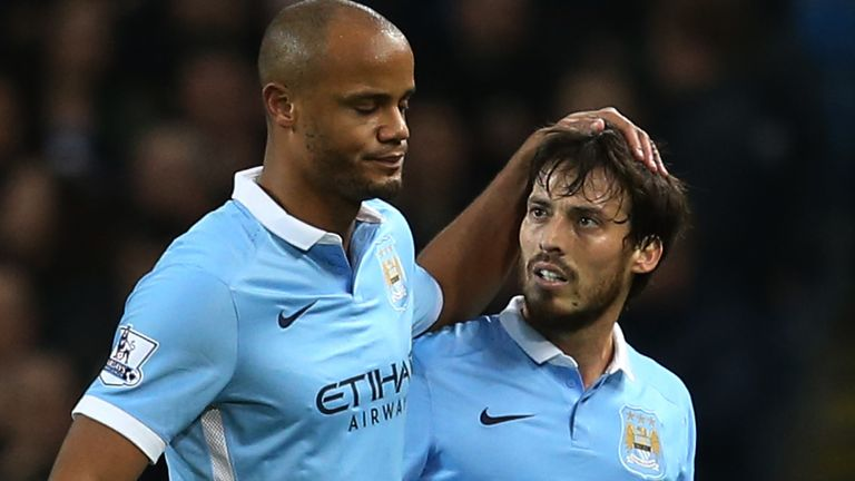 Statues of Silva and former City captain Vincent Kompany will be unveiled in 2021