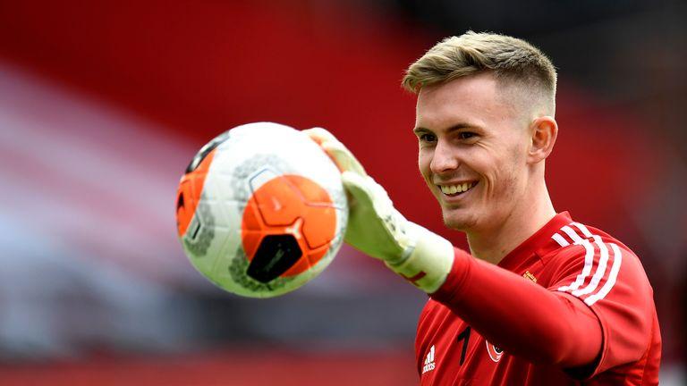 Henderson has been tipped to challenge David de Gea next season