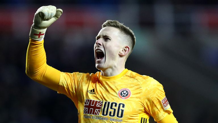Dean Henderson has spent the last two seasons on loan at Sheffield United and has bid farewell to the Blades