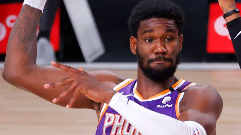Deandre Ayton was the first overall pick in 2018