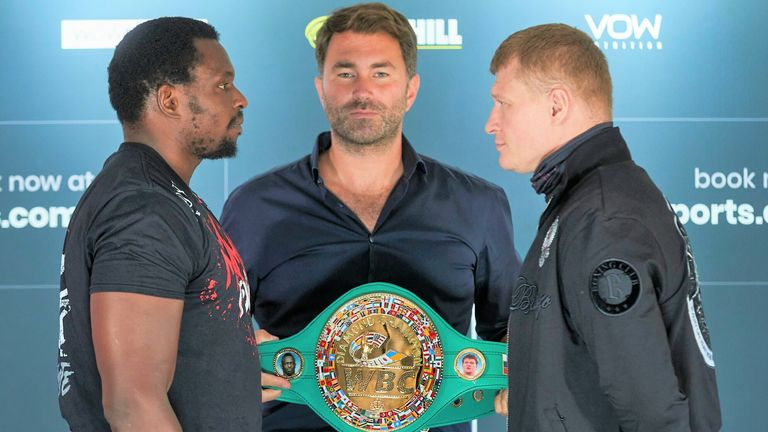 Whyte could regain status as WBC mandatory challenger if he beat Povetkin