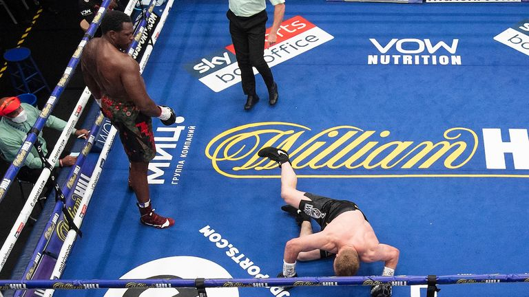 Whyte had Povetkin on the verge of defeat