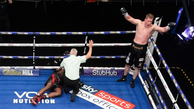 Povetkin completed a come-from-behind win