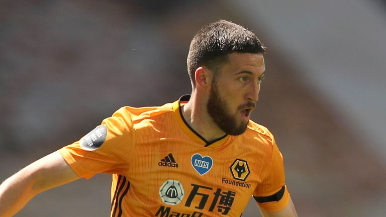 Matt Doherty has been a key figure in Nuno Espirito Santo's Wolves side, featuring in 36 of their 38 league games last season
