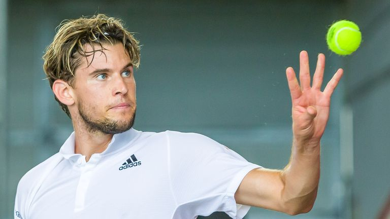 The Austrian is the second seed in the men's draw at Flushing Meadows