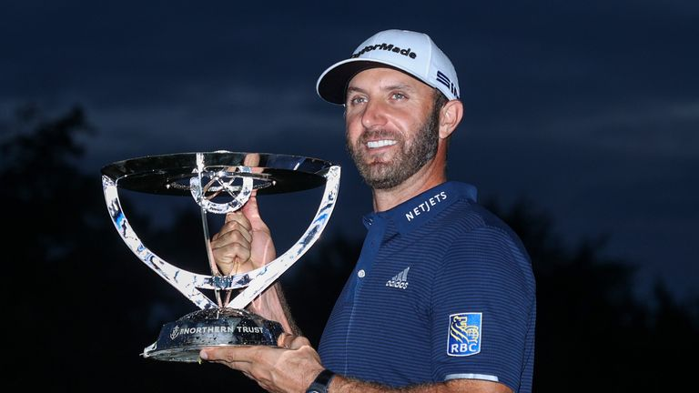 Johnson claimed an 11-shot victory at the first of three FedExCup play-offs