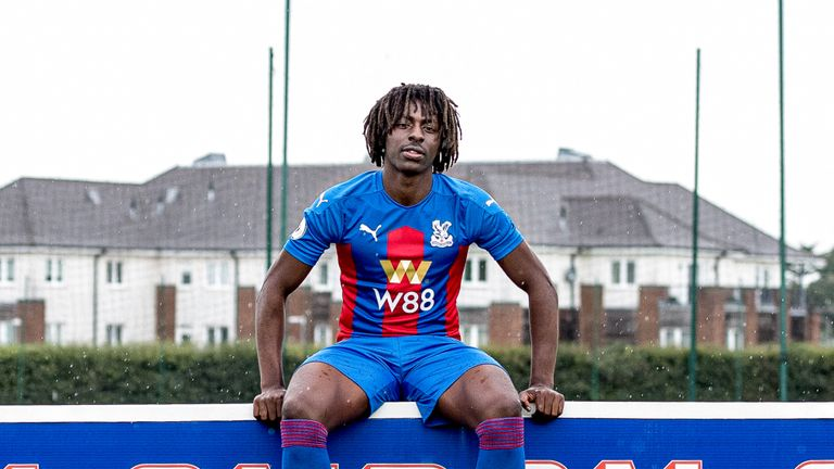 Eze says he is excited by Palace's plan