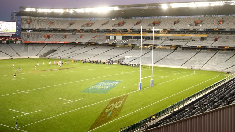 Eden Park was due to host the final Super Rugby game of the season