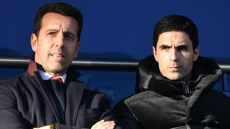 Edu and Arteta